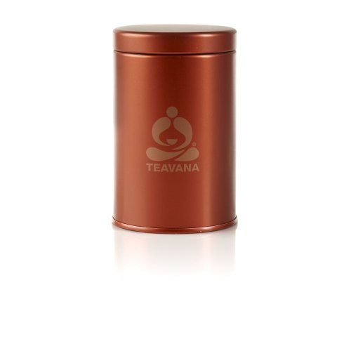 5oz fabric small dot tin white by teavana best tea - Teavana tea pots ...