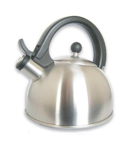 Stainless steel whistling teakettle teapot cookware silver for Alpine cuisine tea kettle