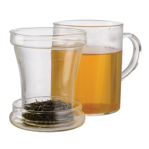 Tea cups with infuser