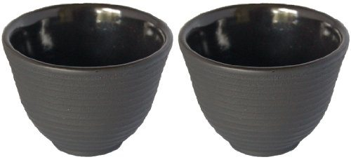 Casting Top Cup : Cast iron cup teacup zen shogun mochi tetsubin lines