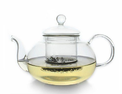 Zen Room 22oz Lead Free Heat Resistant Borosilicate Glass Tea Pot