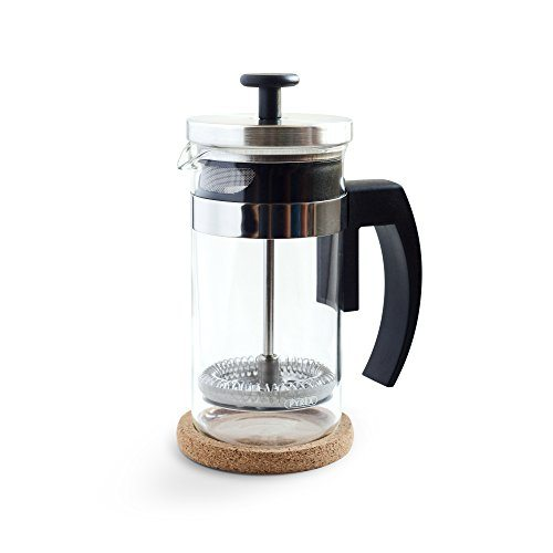 French Press Coffee Maker Cleaning : Brillante Small French Press Coffee Maker & Tea Press 350 ml / 12 Oz Premium Stainless Steel ...