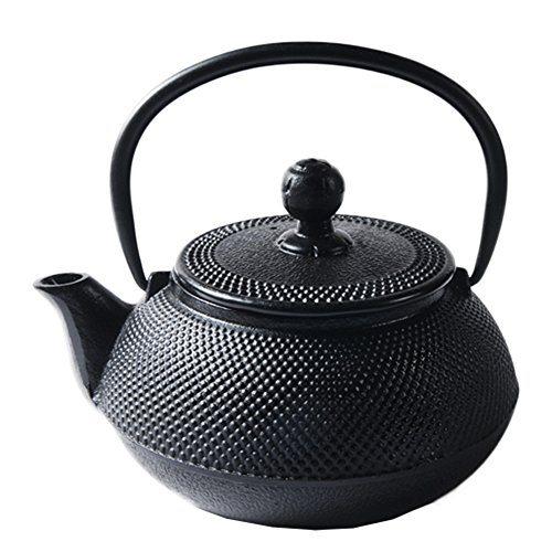 Cast iron cup teacup zen shogun mochi tetsubin lines