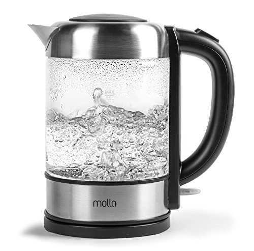 Best Cordless Water Kettle ~ Molla púro cordless glass electric water kettle best tea