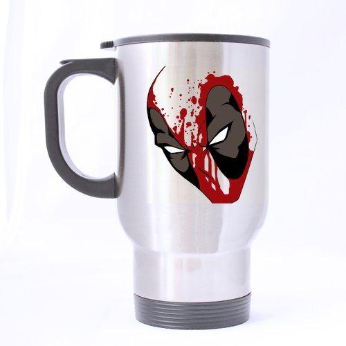 Cool Deadpool Creative Custom Design Travel Mug Sports