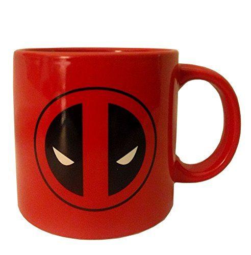 Marvel Deadpool 20 Oz Ceramic Mug Coffee Tea Cup Best