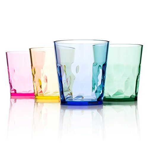 Kuke Set Of 4 Unbreakable Silicone Wine Glasses Premium