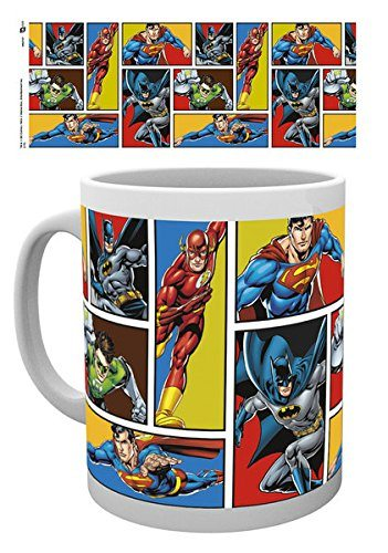The Justice League Dc Comics Ceramic Coffee Mug Cup