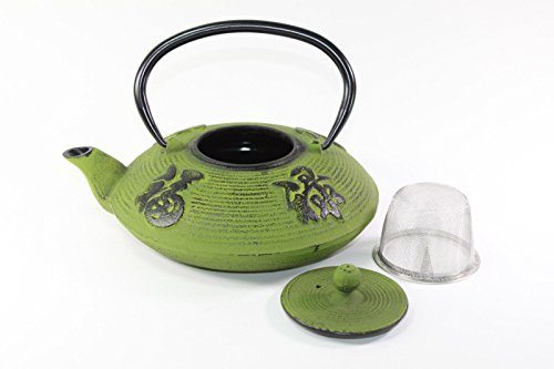 Elephant chinese japanese cast iron teapot tetsubin water kettle cover clip best tea kettles - Elephant cast iron teapot ...
