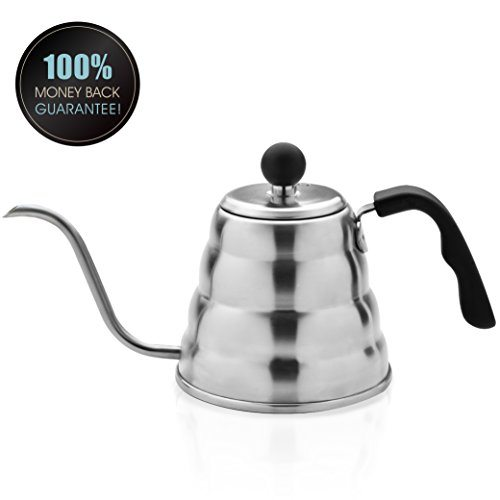 Planetico pour over coffee tea kettle ergonomic
