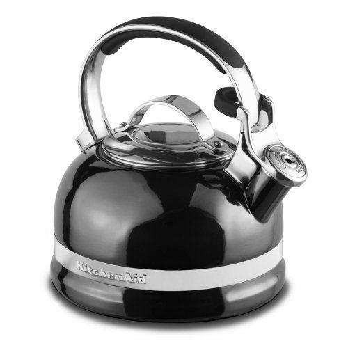 Black Kitchenaid Kettle: KitchenAid KTEN20SBPR 2.0-Quart Kettle With Full Stainless
