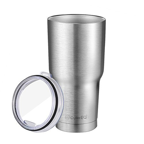 OuterEQ Insulated Travel Mug Stainless Steel Tumbler(30 OZ ...