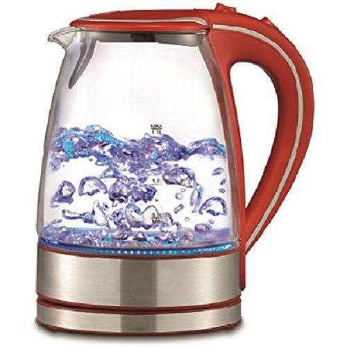 Best Electric Hot Water Kettle ~ Royal l cordless glass electric hot water tea kettle