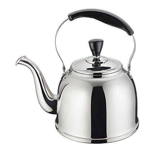 Whistling Tea Kettle ~ Stainless steel whistling tea kettle stove top teapot pot