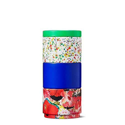 Floral splatter stackable tea tins by teavana best tea - Teavana tea pots ...