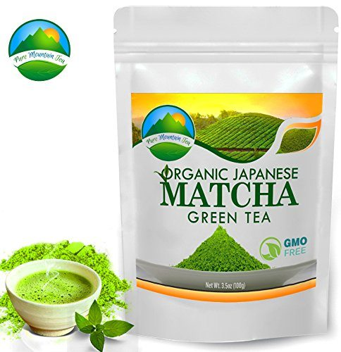 Matcha Green Tea Powder Japanese Organic Premium Drinking Quality