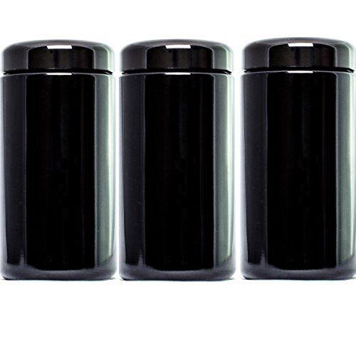 ultravioLeaf 500 ml 17 fl oz 3 Pack Premium Coffee Herb Storage