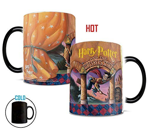 Penguin Book Cover Coffee Mugs : Morphing mugs harry potter book cover heat reveal ceramic