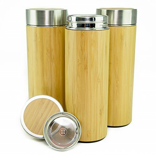 Travel Coffee Mug Tumbler By Hibou Mugs In Bamboo Keeps