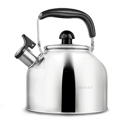tea kettle whistling teapot for stove top stainless. Black Bedroom Furniture Sets. Home Design Ideas